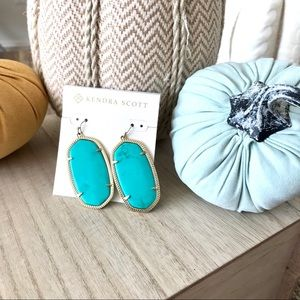 Kendra Scott | Turquoise Danielle Earrings